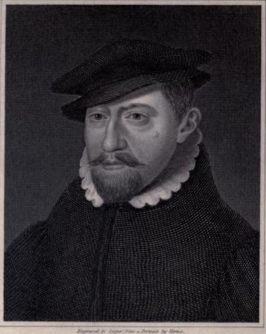 Engraving of William Lambarde