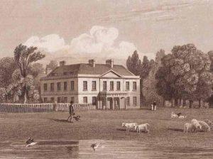 Kippington House, early 19th century