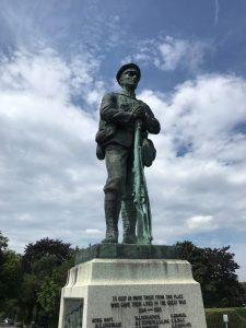 First World War memorial in Sevenoaks, erected in 1920 (2020)