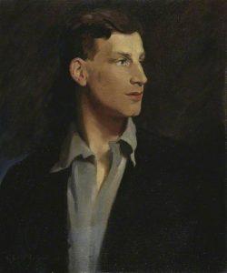 Siegfried Sassoon by Glyn Warren Philpot (1884-1937) © The Fitzwilliam Museum