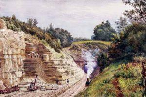 Sevenoaks railway tunnel by unknown artist