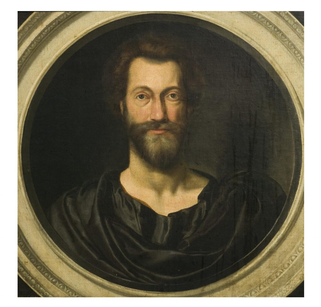 Portrait of John Donne at the age of 49, © Victoria and Albert Museum