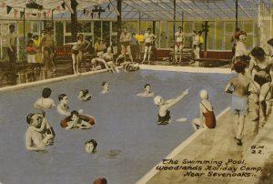 Postcard for Woodlands Holiday Camp (1950s), © Barbara Benedict