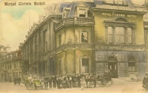 Postcard of the Royal Crown Hotel