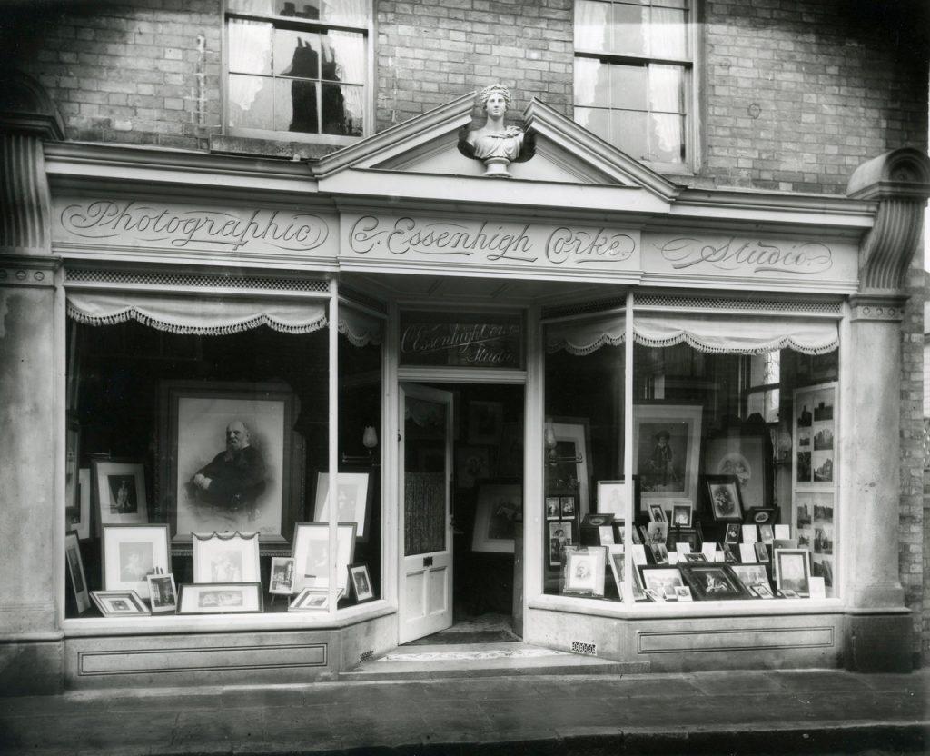 Charles Essenhigh Corke's photography studio in Sevenoaks