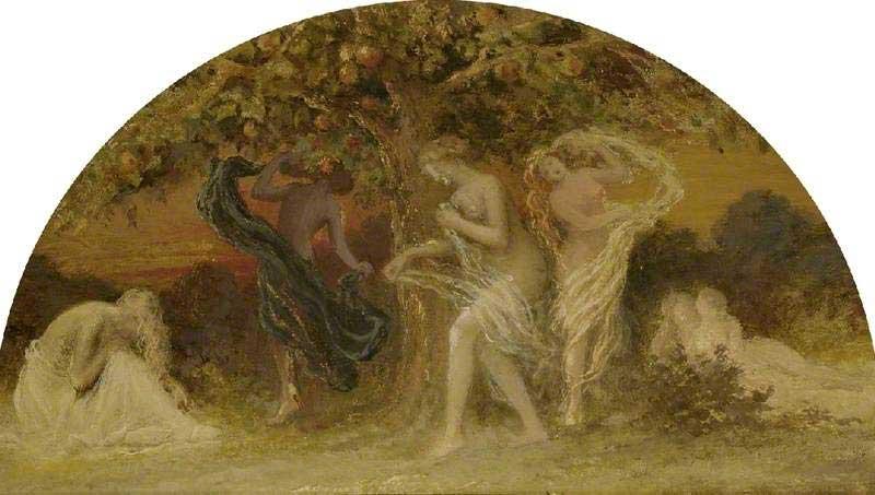 Hesperides, 'Dance around the Golden Tree' by Edward Calvert (1799–1883), © The Fitzwilliam Museum
