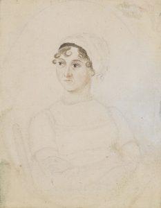 Portrait of Jane Austen by her sister Cassandra, © National Portrait Gallery
