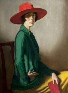 Portrait of Vita Sackville-West by William Strang (1918), © Kelvingrove Museum and Art Gallery