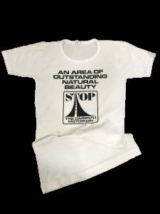 M25 protest t-shirt, © Kent County Council Sevenoaks Museum