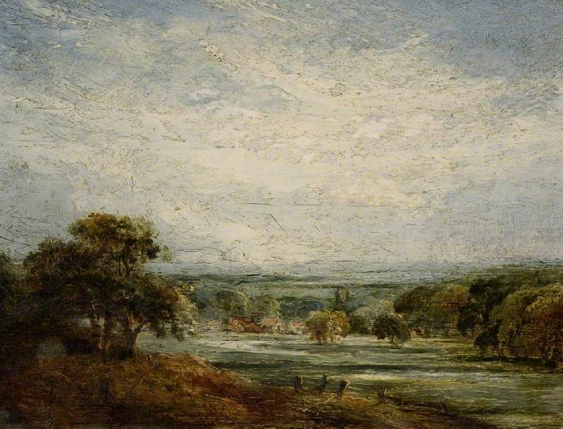 Shoreham Vale by John Linnell (1792-1882), © The Fitzwilliam Museum