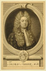 Engraving of Dr Thomas Fuller (1739), © The Trustees of the British Museum