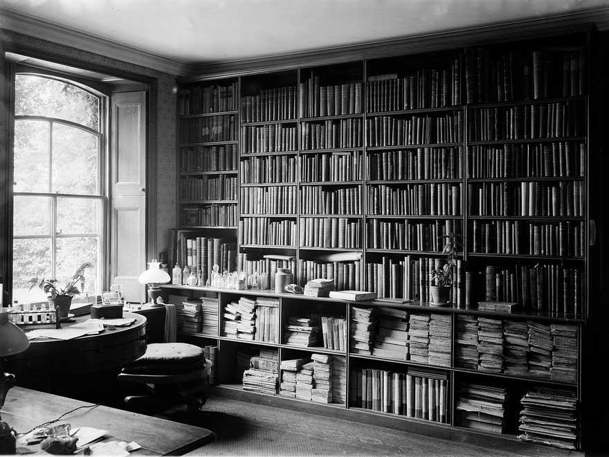 Darwin's study in Down House