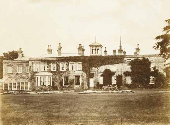 Beechmont House in the late 19th century