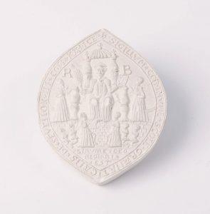 Cast of Sevenoaks School seal, © Kent County Council Sevenoaks Museum