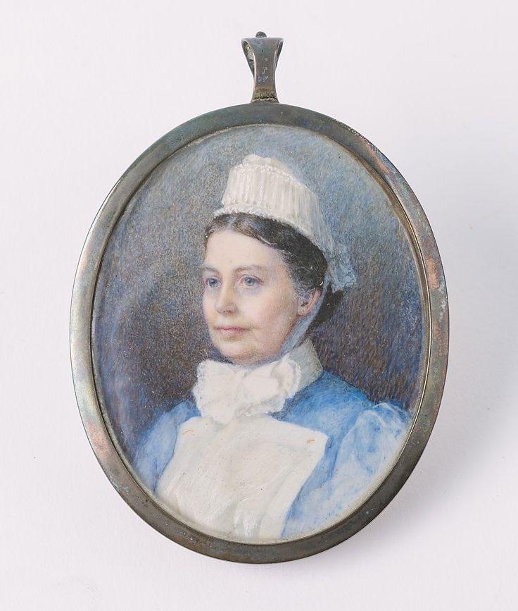 Portrait medallion of Emily Jackson, © Kent County Council Sevenoaks Museum