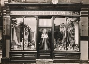 Blow's Grocery Shop, Sevenoaks (1937)