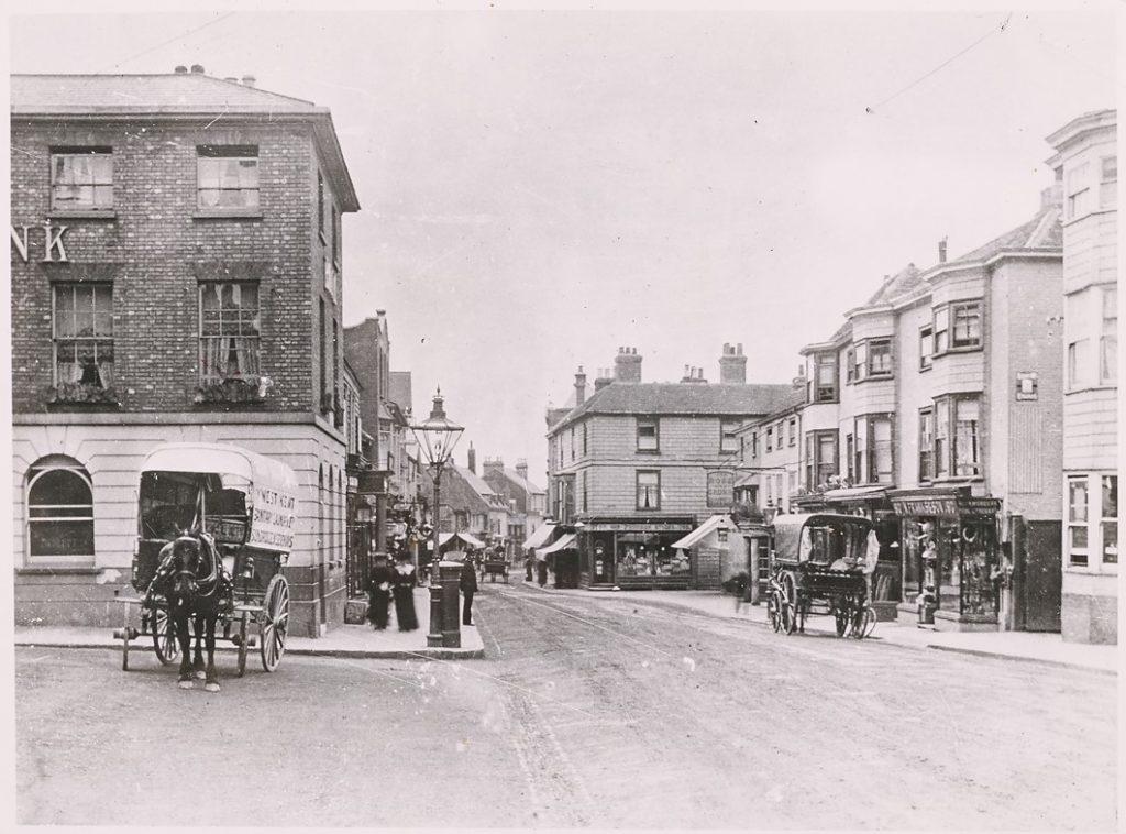 Sevenoaks high street, early 1900s