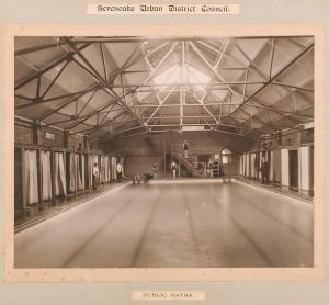 Sevenoaks swimming baths (early 1900s), © Kent County Council Sevenoaks Museum