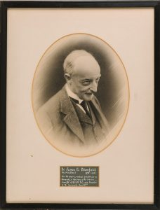 Portrait of Dr James Blomfield, founder of the Sevenoaks Society, © Kent County Council Sevenoaks Museum