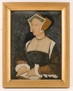 Portrait of a woman by John Downton, © Kent County Council Sevenoaks Museum
