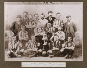 Sevenoaks Football Club in 1901, © Kent County Council Sevenoaks Museum