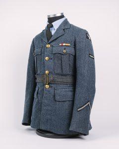 Second World War RAF uniform, © Kent County Council Sevenoaks Museum