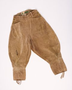 Breeches worn by member of the Kent Women's Land Army, © Kent County Council Sevenoaks Museum