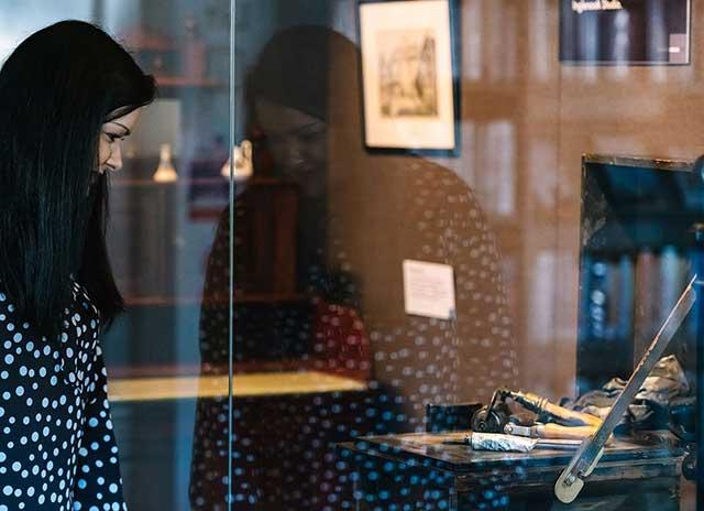 Sevenoaks Museum display