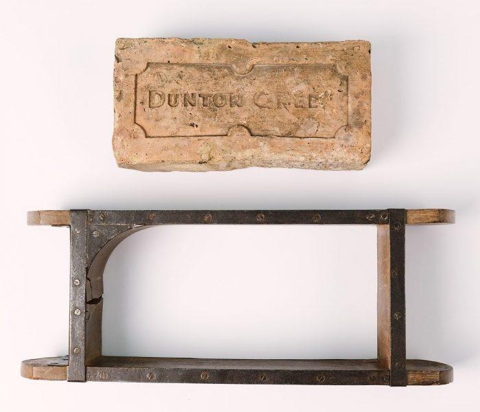Dunton Green brick and brick mould, © Kent County Council Sevenoaks Museum