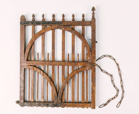 Model of the gate destroyed in the siege, © Kent County Council Sevenoaks Museum