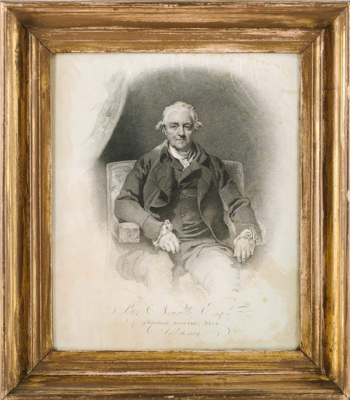 Peter Nouaille of Greatness in 1809, © Kent County Council Sevenoaks Museum