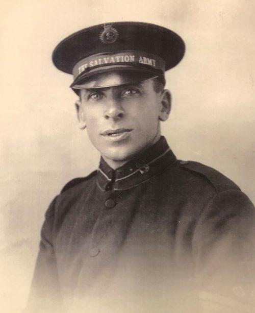 Sevenoaks Salvation Army Man