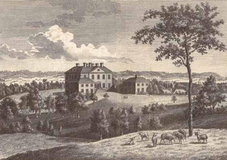 Montreal House in the early 1800s