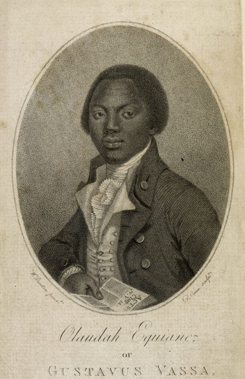 Engraving of Olaudah Equiano